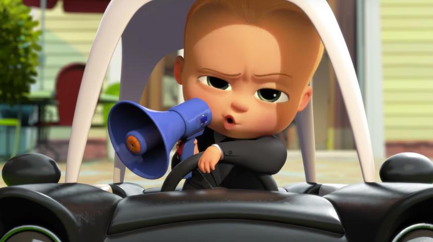 Découvrez l'amusante bande-annonce de The Boss Baby