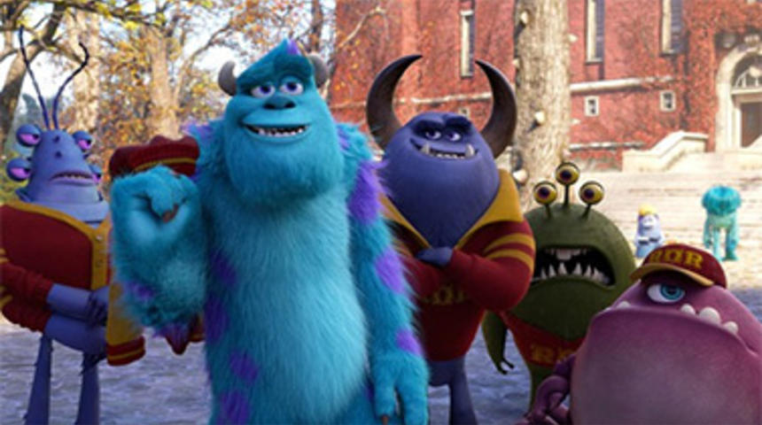 Sorties DVD : Monsters University