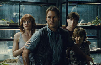 Box-office nord-américain : Jurassic World dépasse Inside Out