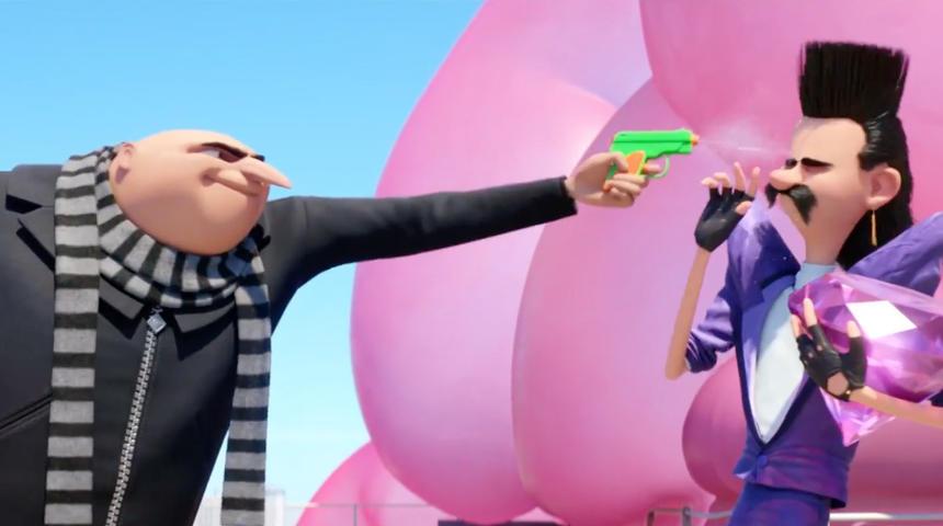 Bande-annonce de Despicable Me 3 : Gru et ses Minions sont de retour