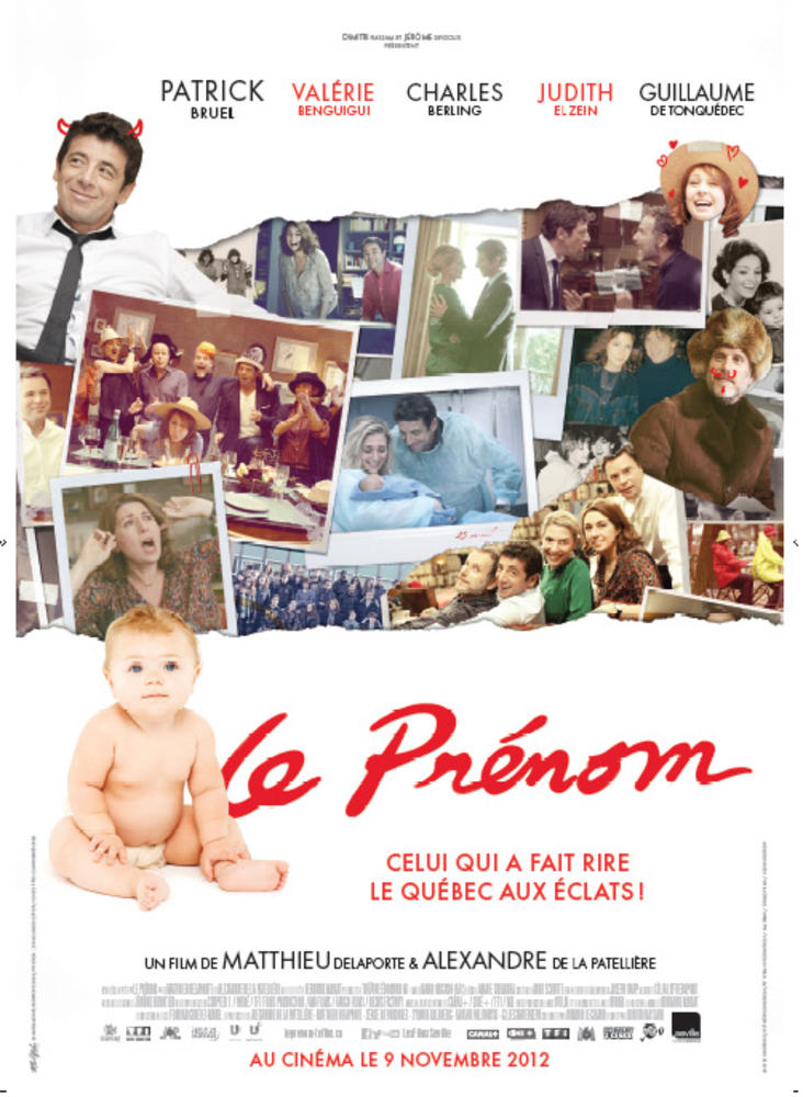Imię / Le Prénom (2012)