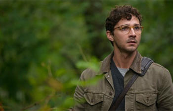 Shia LaBeouf dans Fury de David Ayer