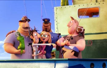 Box-office nord-américain : Cloudy with a Chance of Meatballs 2 occupe la première place