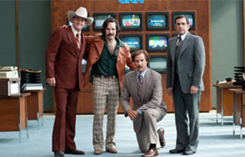 Sorties DVD : Anchorman 2: The Legend Continues