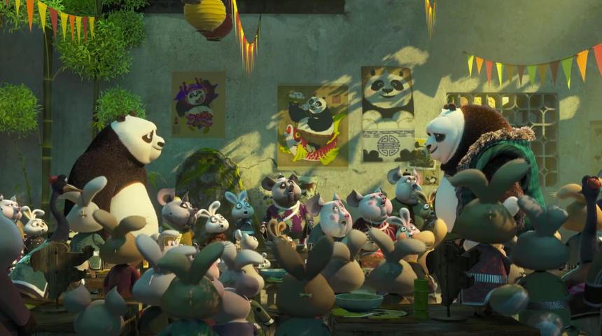 Première bande-annonce pour Kung Fu Panda 3