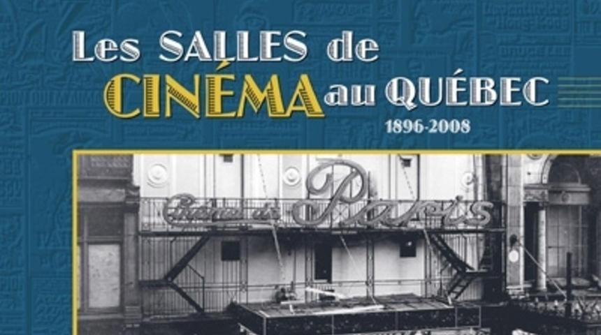Un livre sur les salles de cinéma au Québec