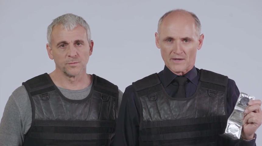 Des conseils de sécurité pour la St-Valentin par David et Martin de Bon Cop Bad Cop 2