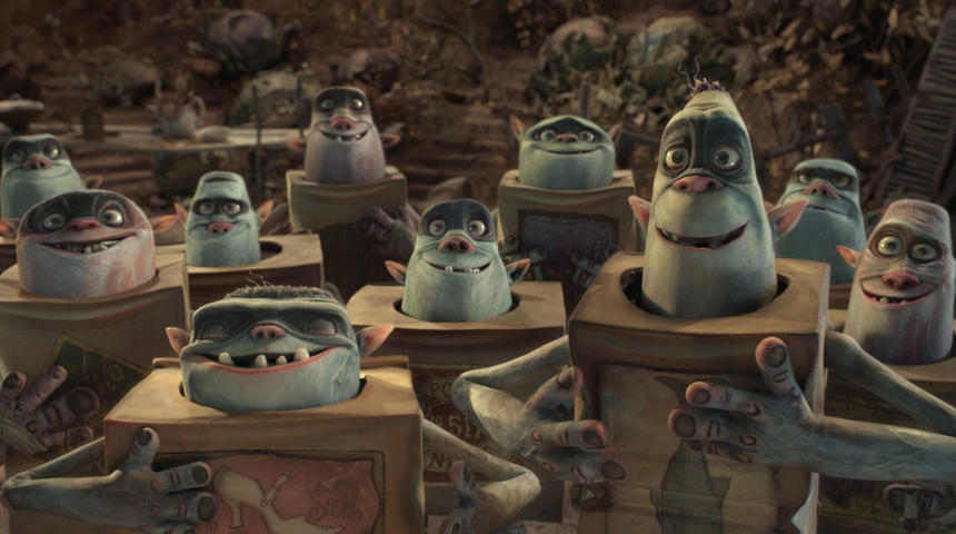 Sorties DVD : The Boxtrolls