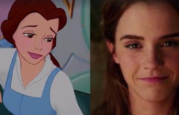 Movie Pilot compare La Belle et la Bête de 1991 et celui de 2017 dans une vidéo surprenante