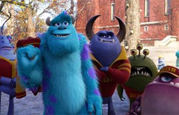 Sorties DVD : Monsters University