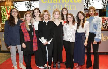 Première montréalaise de la comédie pour ados Charlotte a du fun