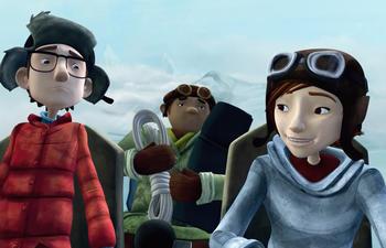 Bande-annonce du film d'animation québécois Nelly et Simon : Mission Yéti