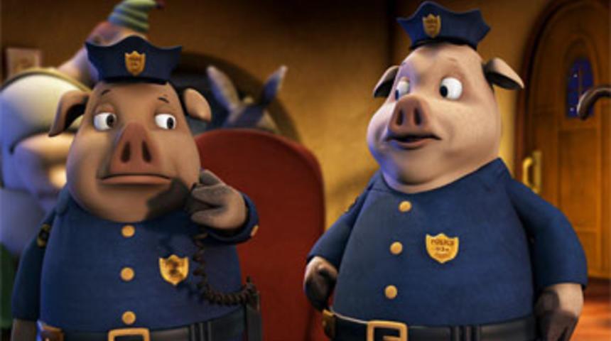 Prêtez votre voix à l'un des trois petits cochons