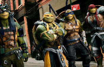 Nouveautés : Teenage Mutant Ninja Turtles: Out of the Shadows