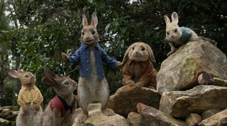 Bande-annonce : découvrez un Peter Rabbit encore plus espiègle
