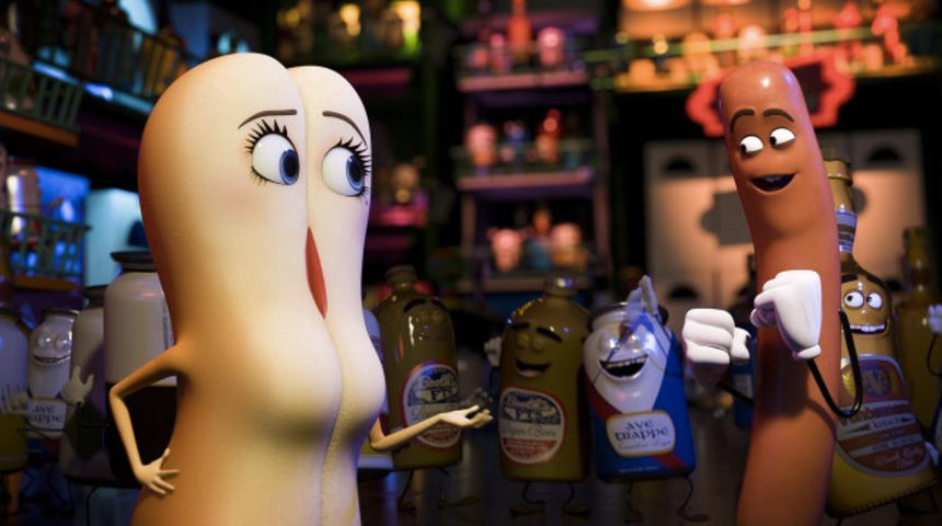 Box-office nord-américain : Sausage Party arrive en 2e place avec 33 millions $