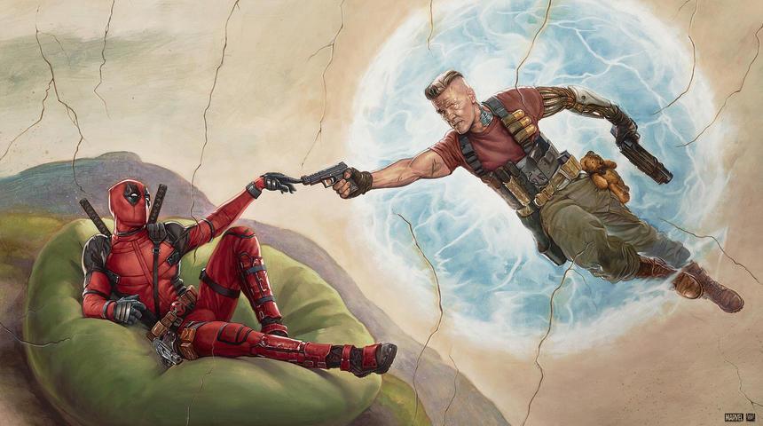 Le marketing ingénieux de Deadpool 2
