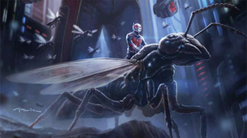 Début du tournage de Ant-Man