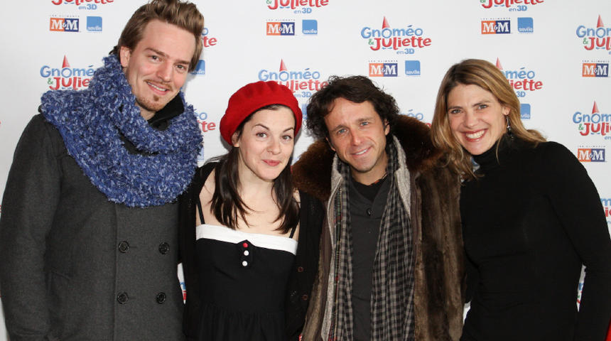 Première québécoise du film Gnomeo et Juliette