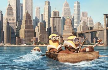 Box-office québécois : Les Minions n'abandonneront pas le premier rang si facilement