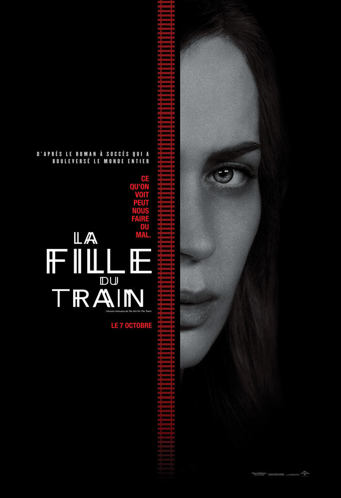 la fille du train 2016 film. Black Bedroom Furniture Sets. Home Design Ideas