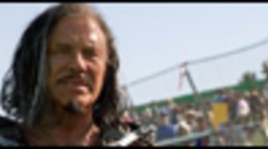 Première image de Mickey Rourke dans Iron Man 2
