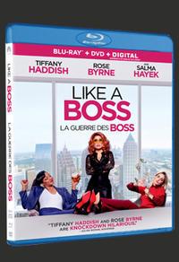 Blu-Ray du film La guerre des Boss