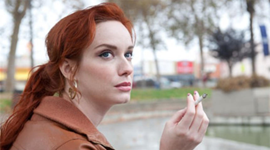 Christina Hendricks dans l'adaptation de A Book of Common Prayer