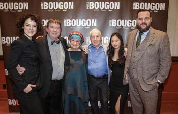Les Bougon s'endimanchent pour la première de Votez Bougon à Montréal