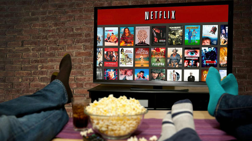 Le visionnement de films est en hausse au pays