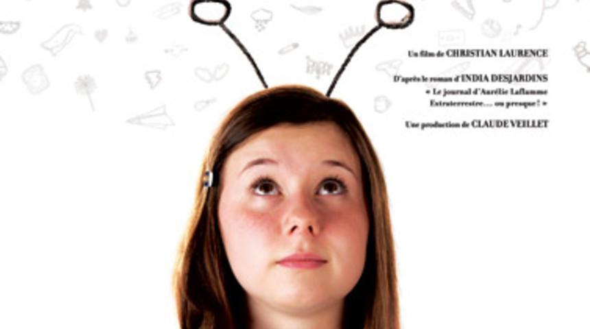 Affiche du film québécois Le journal d'Aurélie Laflamme