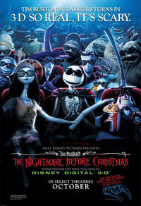 Tim Burton's The Nightmare Before Christmas 3D