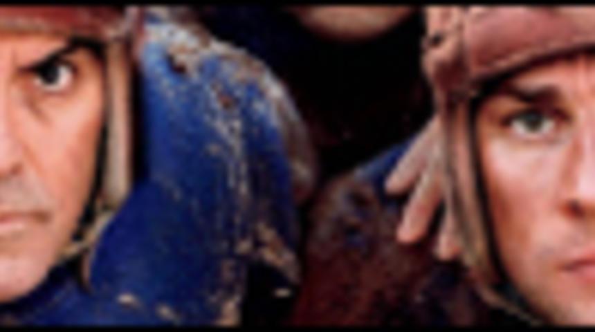 Affiche en français de Leatherheads avec George Clooney